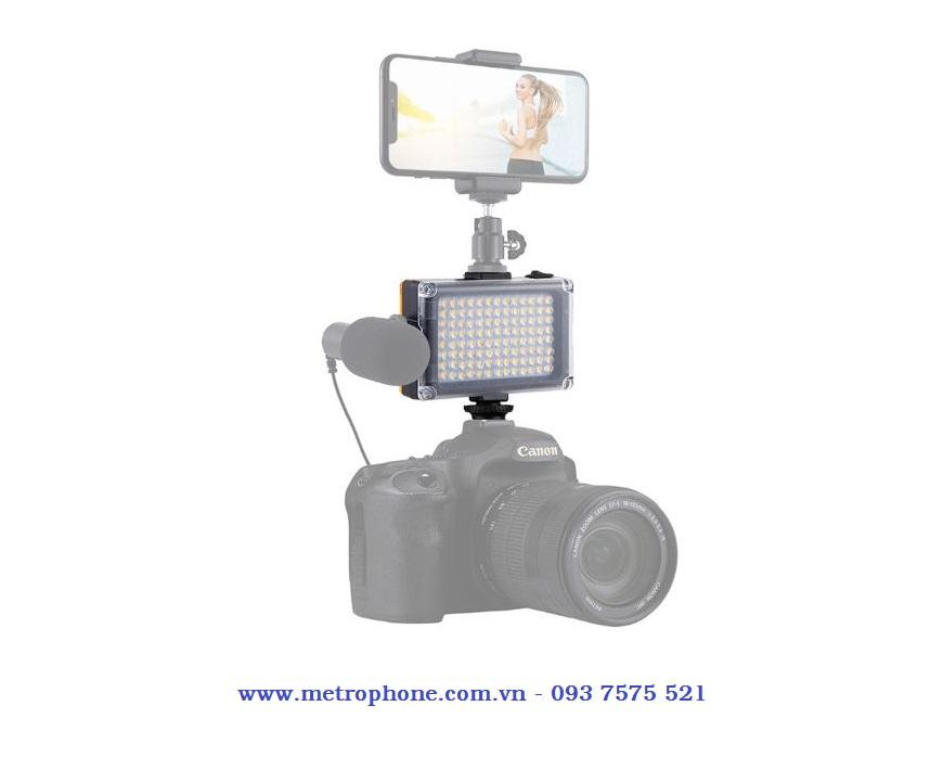 đèn led 104 bóng puluz mẫu 2 metrophone.com.vn