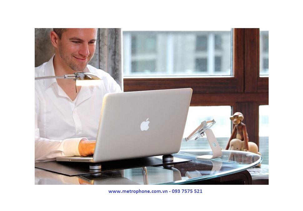 Đế Kê CNC Tản Nhiệt Cho Macbook Và Laptop metrophone.com.vn