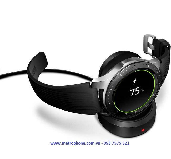 đế sạc cho samsung galaxy watch 42mm 46mm metrophone.com.vn