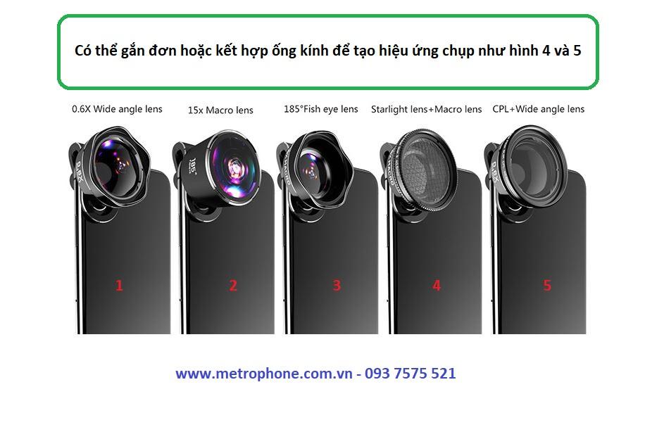 ống kính LQ Pro 185 metrophone.com.vn