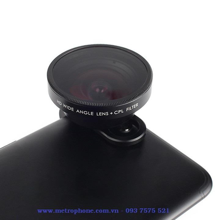 [6166] Ống Kính Góc Rộng Pholes 16mm Cho Điện Thoại Và Máy Tính Bảng metrophone.com.vn