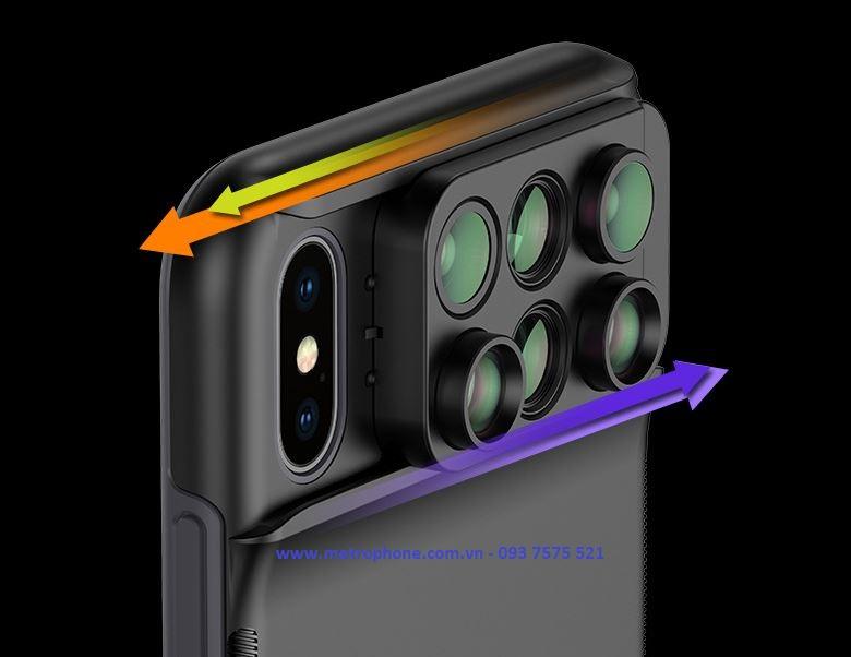 ống kính iphone xs max pholes metrophone.com.vn