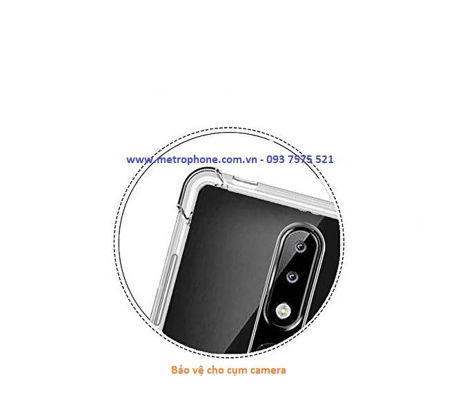 Ốp Trong Suốt Chống Sốc 4 Góc Cạnh Cho Nokia 5.1 metrophone.com.vn