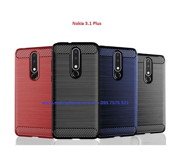Nokia 3.1 Plus - Ốp Lưng Chống Sốc metrophone.com.vn