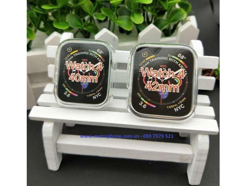 ốp dẻo cho apple watch 40mm và 44mm metrophone.com.vn