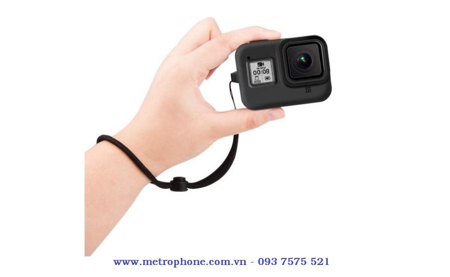 Ốp silicone dẻo bảo vệ gopro 8 metrophone.com.vn