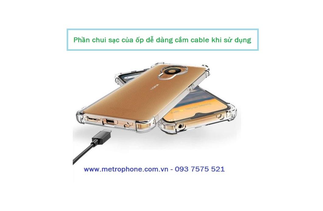 ốp dẻo trong chống sốc cho nokia 5.3 metrophone.com.vn