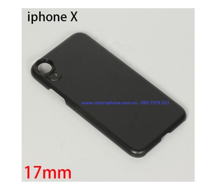 ốp lưng ren gắn ống kính cho iphone xs max iphone x metrophone.com.vn