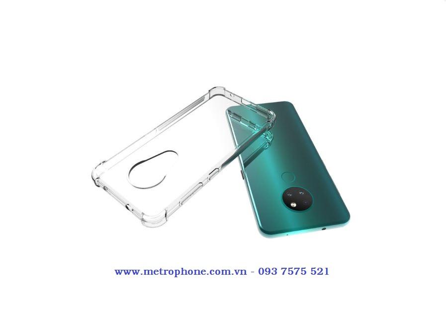 Ốp trong chống sốc góc cạnh cho nokia 7.2 metrophone.com.vn