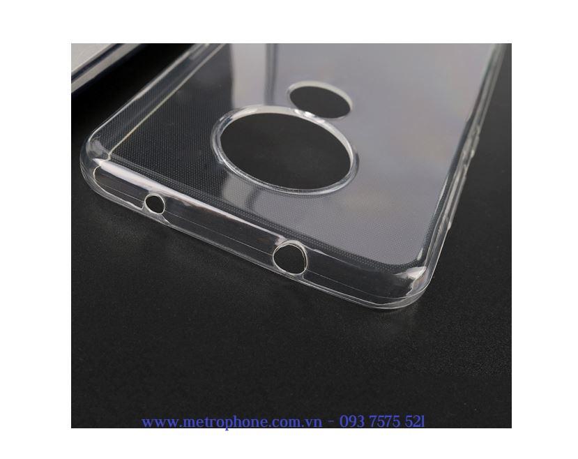 Ốp silicon dẻo trong suốt dành cho Nokia 7.2