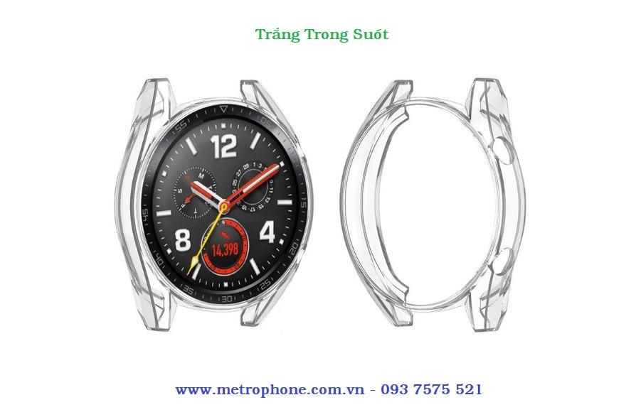 Khung viền dẻo bảo vệ đồng hồ Huawei Watch GT 46mm