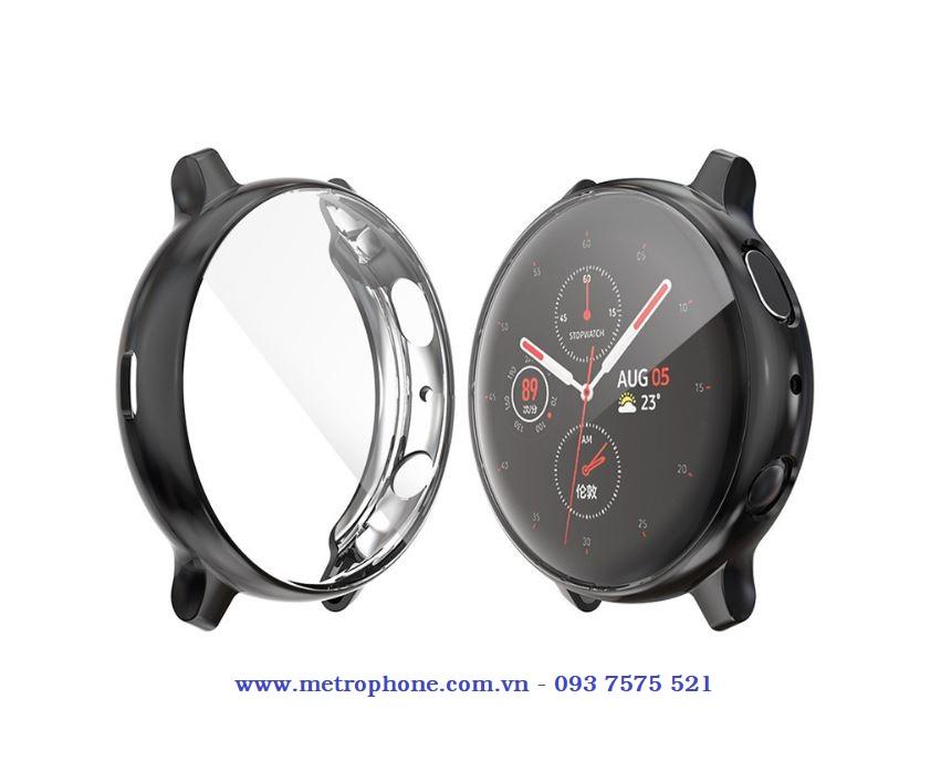 Ốp silicone dẻo bảo vệ viền và màn hình cho Galaxy Watch Active 2 metrophone.com.vn