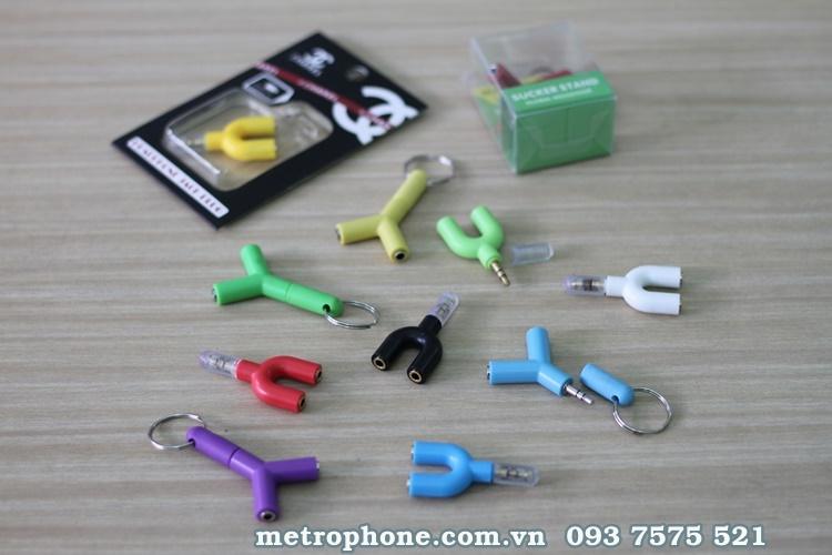 [2816] Jack Chia Cổng Tai Nghe 3.5mm - Metrophone.com.vn