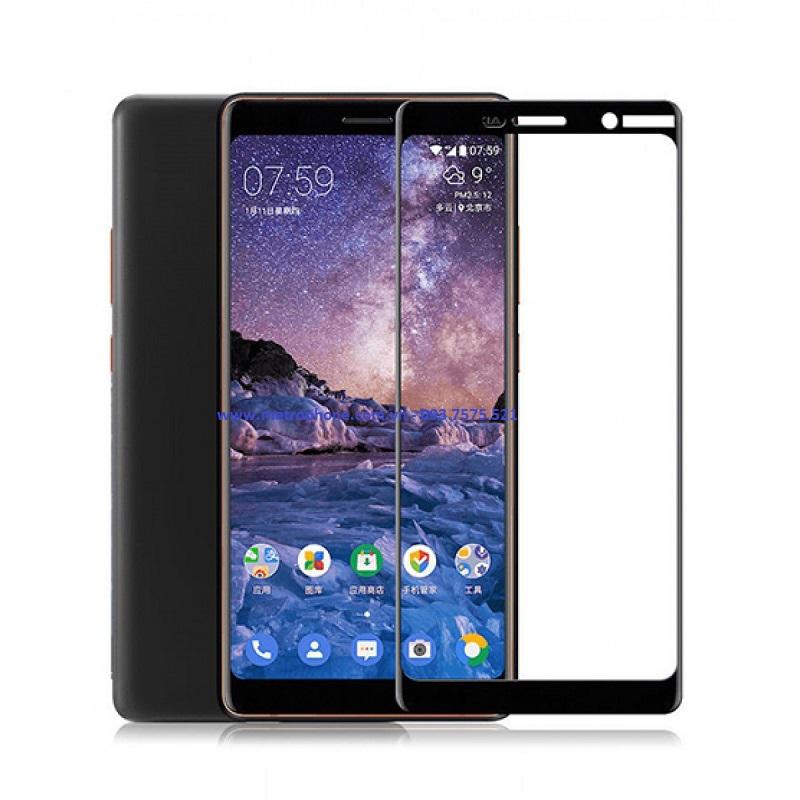 cường lực full keo full màn hình 5d cho nokia 7 plus metrophone.com.vn