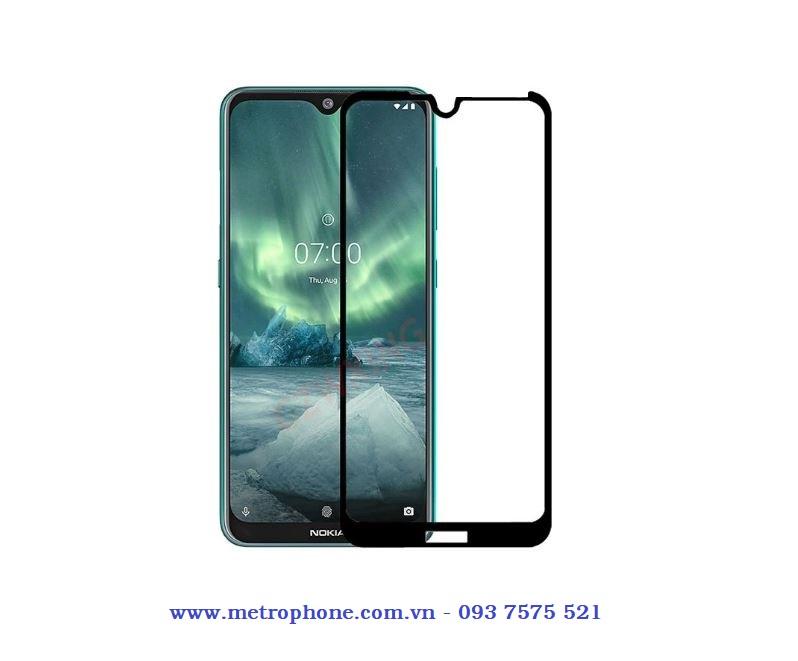 cường lực nokia 7.2 full màn hình metrophone.com.vn
