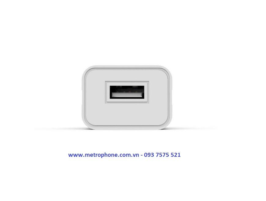 củ sạc điện thoại sikai metrophone.com.vn