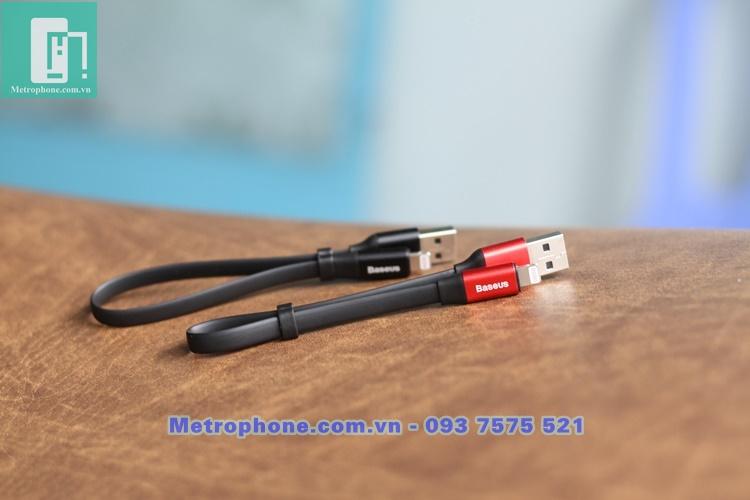 [6062] Dây Sạc Ngắn 23cm Dành Cho Cổng Lightning IPhone IPad ( Hiệu Baseus ) - Metrophone.com.vn