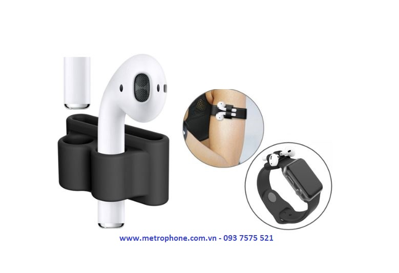 combo 5 món silicon dẻo cho airpod apple watch metrophone.com.vn