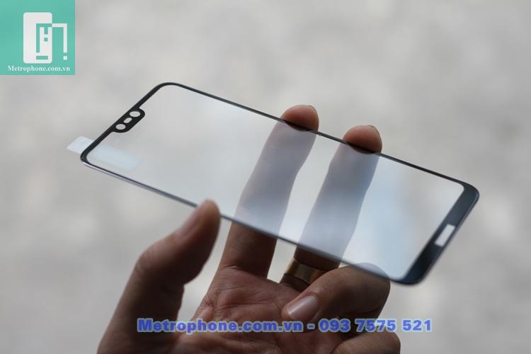 [6066] Nokia X6 2018 - Miếng Dán Cường Lực 3D Full Màn Hình - Metrophone.com.vn