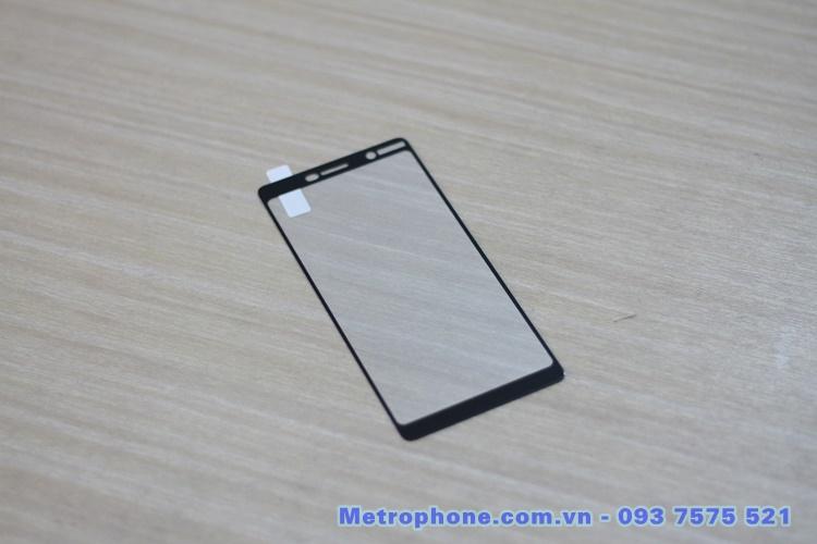 [6014] Nokia 7 Plus  – Miếng Dán Cường Lực 3D Full Màn Hình - Metrophone.com.vn