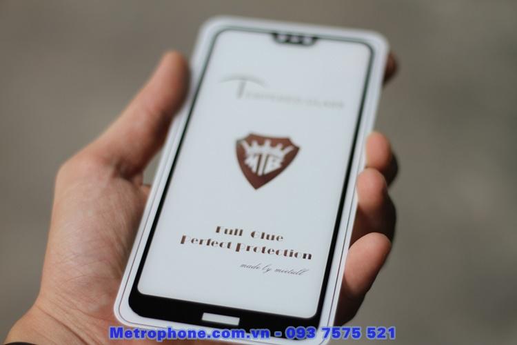 [6119] Nokia 7.1 - Miếng Dán Cường Lực 5D Full Keo Full Màn Hình - Metrophone.com.vn