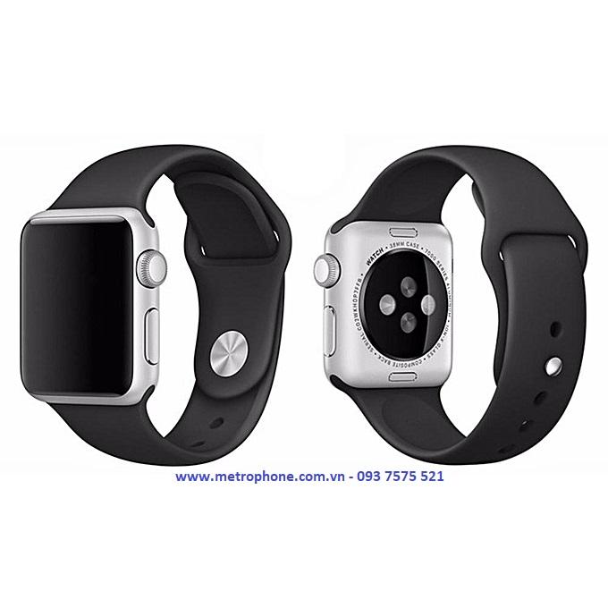 dây cao su dẻo sport cho apple watch metrophone.com.vn