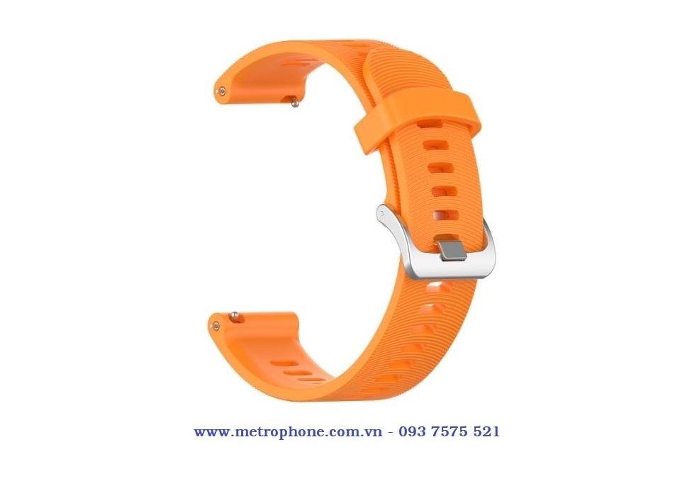 dây cao su mềm cho active 2 garmin 245mm 20mm metrophone.com.vn