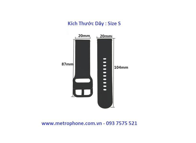 dây cao su watch active watch 42mm gear s2 classic metrophone.com.vn