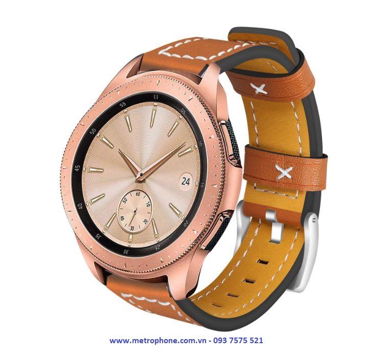 dây da chỉ nổi cho s2 classic watch 42mm metrophone.com.vn
