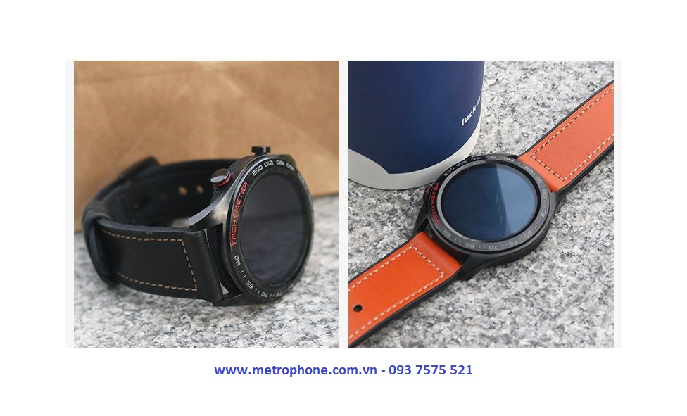 Dây Da Hybird Dành Cho Huawei Watch GT / Galaxy Watch 46mm / Gear S3 metrophone.com.vn