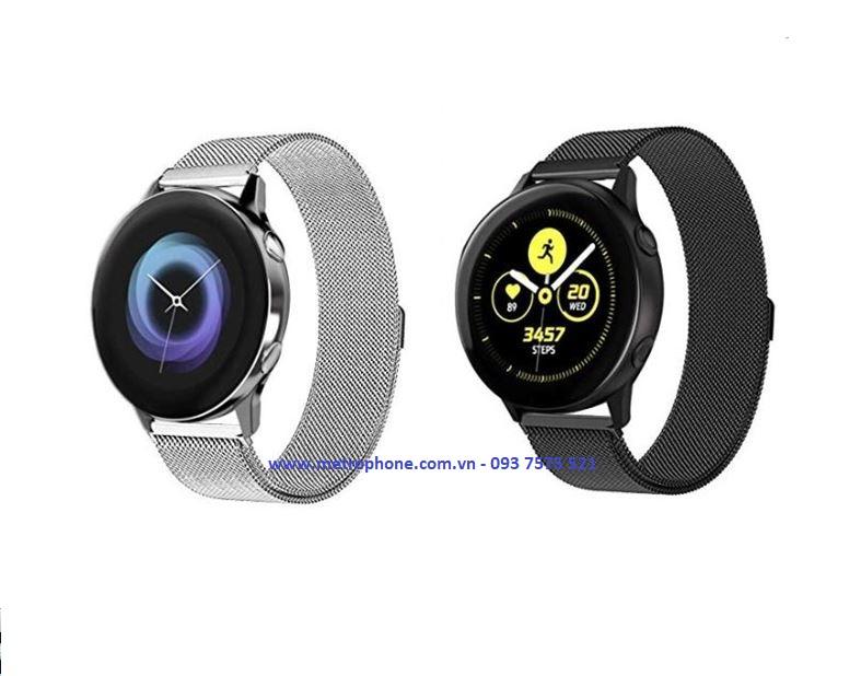 Dây Kim Loại Cho Samsung Galaxy Watch Active metrophone.com.vn