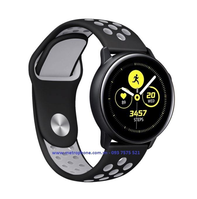 dây nike đục lỗ cho galaxy watch active metrophone.com.vn