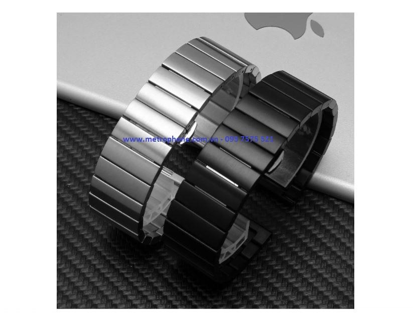 Dây Nguyên Khối Thép Đúc Cho Samsung Galaxy Watch Active metrophone.com.vn