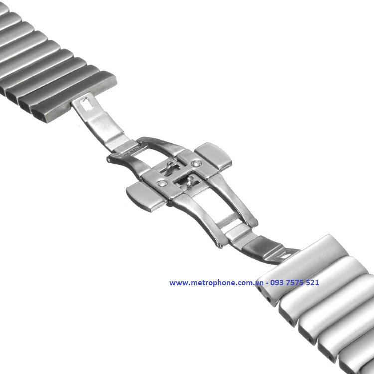 dây thép nguyên khối gear s3 galaxy watch 46mm metrophone.com.vn