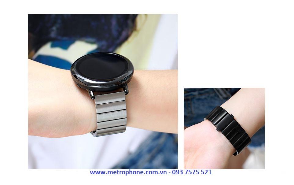 Dây Nguyên Khối Thép Đúc Cho Samsung Gear S3 metrophone.com.vn