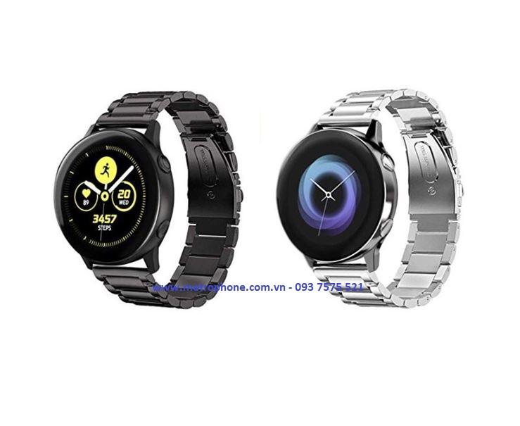 Dây Thép Đúc Cho Samsung Galaxy Watch Active metrophone.com.vn