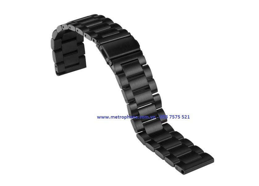 [6148] Dây Thép Đúc Cho Samsung Galaxy Watch Active metrophone.com.vn