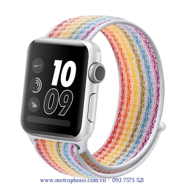 dây vải dán apple watch 44mm metrophone.com.vn