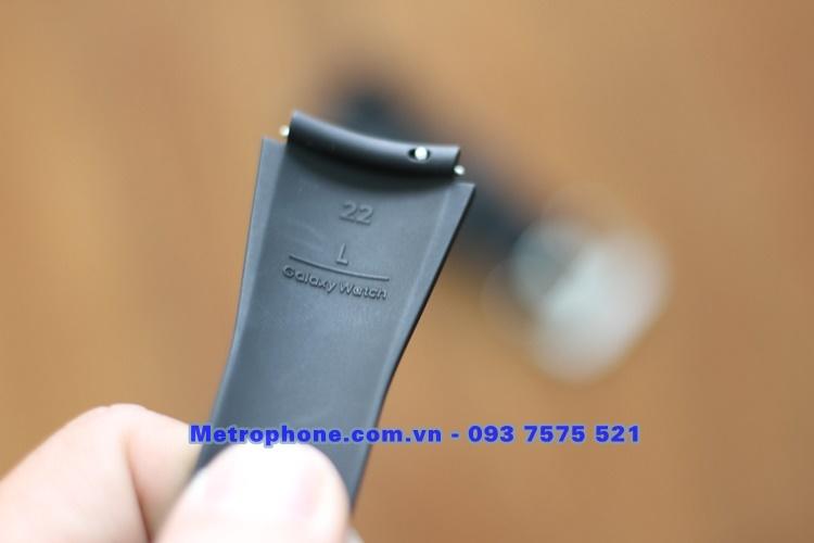 [6115] Dây Cao Su Galaxy Watch 46mm Size 22mm Chính Hãng - www.metrophone.com.vn