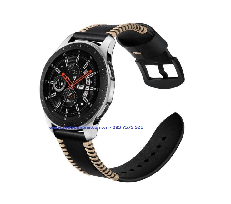 dây da cho galaxy watch 46mm metrophone.com.vn