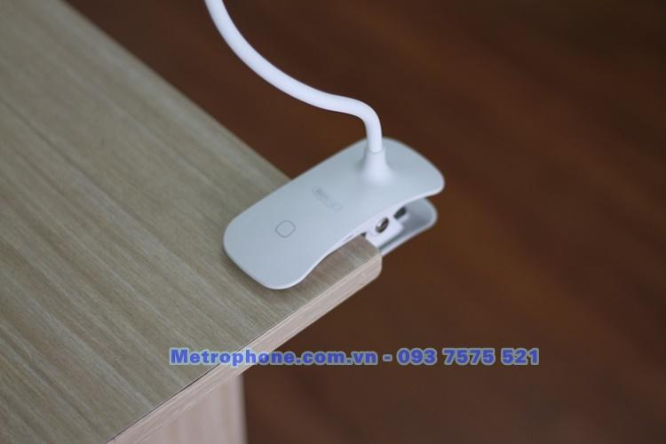 [5945] Đèn Led Để Bàn Và Kẹp Bàn Uốn Dẻo 360 độ Remax RT-E195 - Metrophone.com.vn