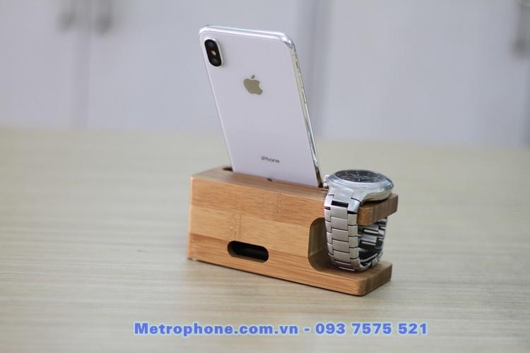 [860] Kệ Để Apple Watch Và Điện Thoại - Metrophone.com.vn