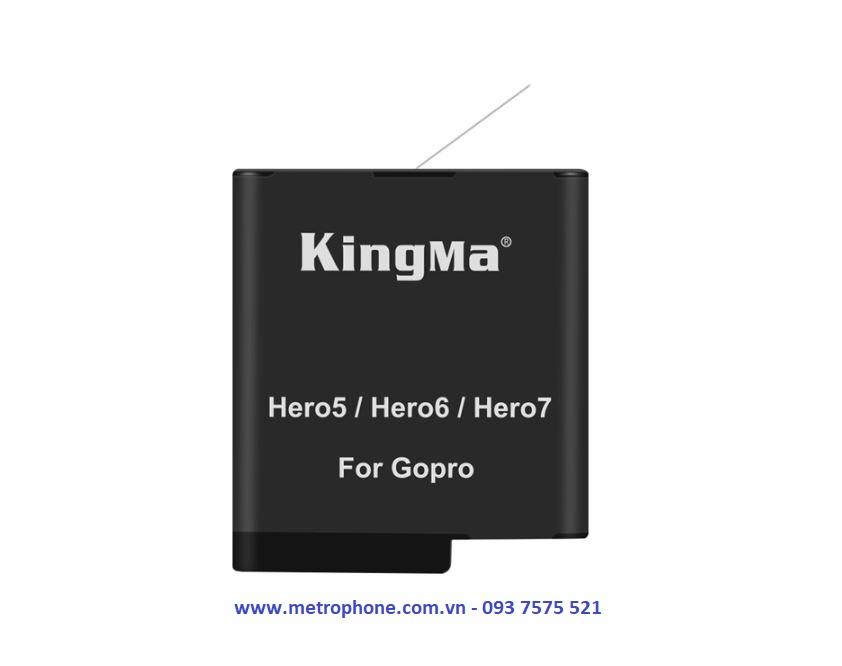 pin cho gopro 5 gopro 6 gopro 7 metrophone.com.vn