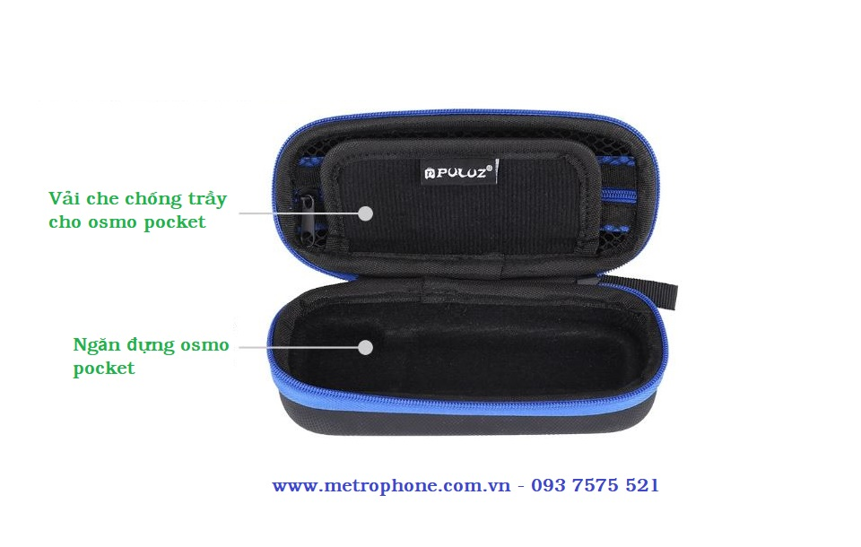 Hộp đựng cho DJI Osmo Pocket metrophone.com.vn