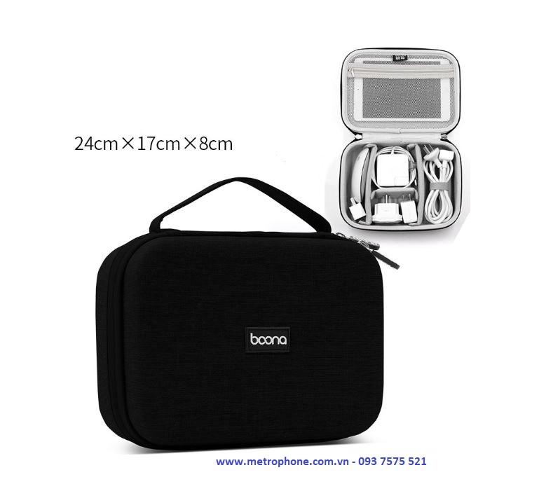 hộp đựng phụ kiện baona khung cứng metrophone.com.vn