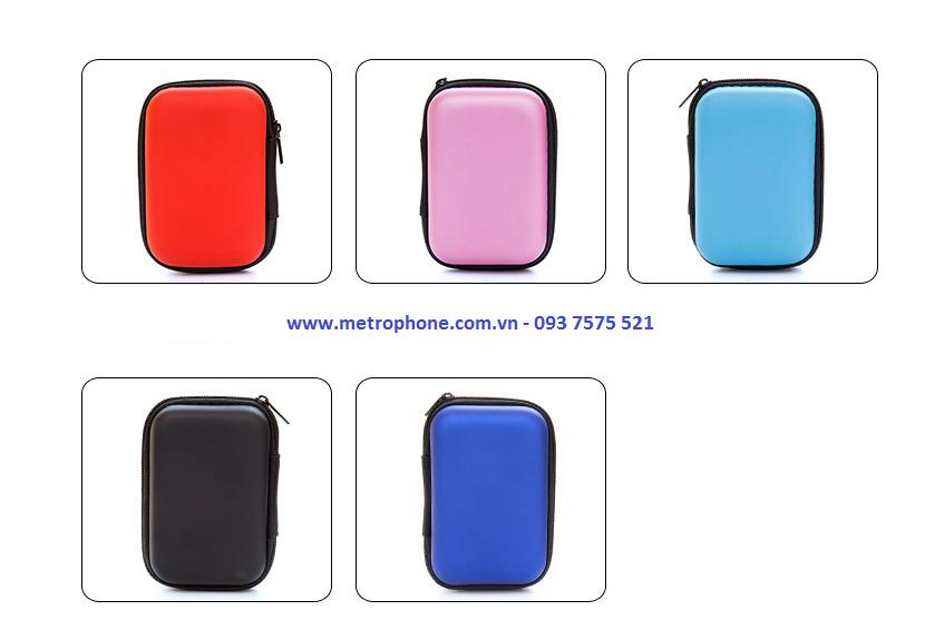 Hộp đựng đồ công nghệ sạc cáp loại nhỏ - Metrophone.com.vn