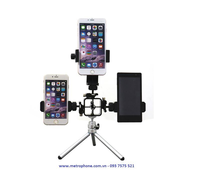 khung gắn nhiều thiết bị KG 01 metrophone.com.vn