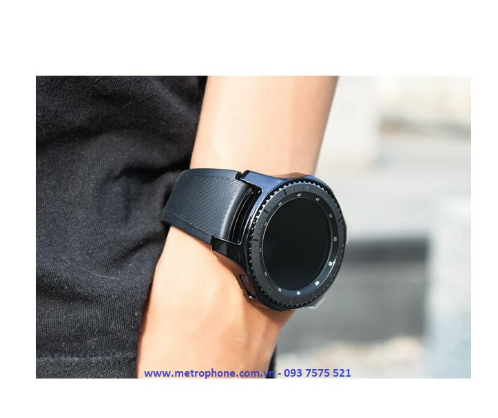 Khung Viền Dẻo Bảo Vệ Đồng Hồ Galaxy Watch 46mm/42mm/ Gear S3 Frontier Loại Mới metrophone.com.vn