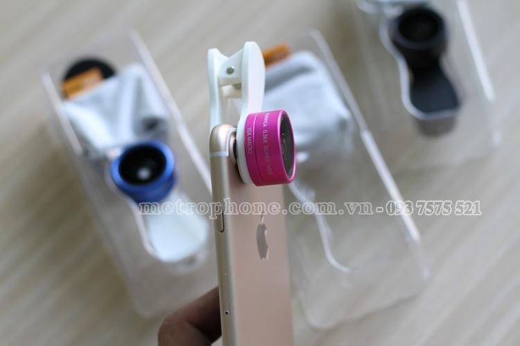 [042] Ống kính 2 in 1 FUNIPICA F-515 ( góc siêu rộng 0.36x + macro 15x ) - Metrophone.com.vn