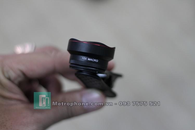 Ống Kính LEIQI 3 in 1 LQ-048 Cho Điện Thoại - Metrophone.com.vn